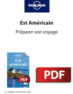 Est Américain 2 - Préparer son voyage