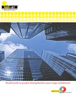 revêtements en poudre fluoropolymères pour usage architectural
