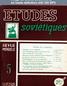 ETUDES SOVIETIQUES numéro 5 du 01 septembre 1948