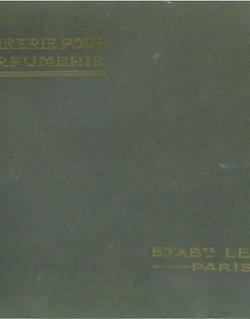 Catalogue verrerie pour parfumeur