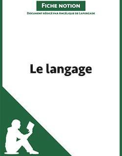 Le langage - Fiche notion