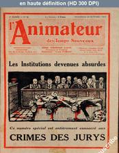 L' ANIMATEUR DES TEMPS NOUVEAUX  numéro 86 du 28 octobre 1927