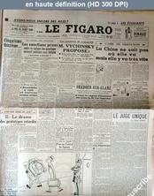 LE FIGARO  numéro 1479 du 11 juin 1949