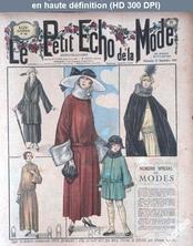 LE PETIT ECHO DE LA MODE  numéro 38 du 17 septembre 1922