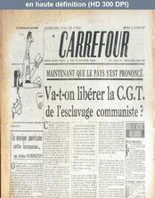 CARREFOUR numéro 162 du 22 octobre 1947
