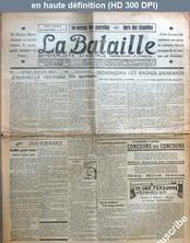 LA BATAILLE  numéro 5 du 01 juin 1922