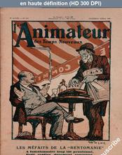 L' ANIMATEUR DES TEMPS NOUVEAUX  numéro 219 du 16 mai 1930