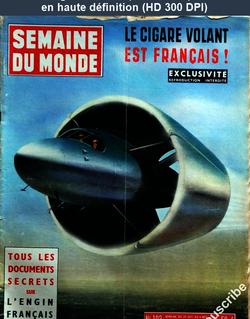 SEMAINE DU MONDE numéro 103 du 29 octobre 1954