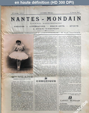 NANTES MONDAIN numéro 18 du 01 février 1902