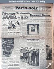 PARIS SOIR du 12 novembre 1941