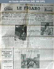 LE FIGARO  numéro 2289 du 18 janvier 1952