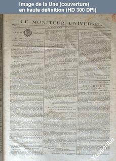LE MONITEUR UNIVERSEL  numéro 173 du 22 juin 1823