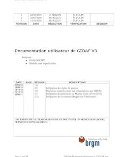 Documentation utilisateur de GIDAF V3