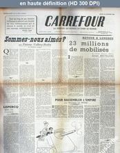 CARREFOUR numéro 13 du 18 novembre 1944