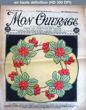 MON OUVRAGE numéro 22 du 16 janvier 1924
