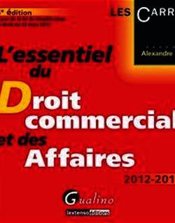 L'essentiel du droit commercial et des affaires 2012-2013 - 4e édition