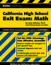 CliffsTestPrep® California High School Exit Exam: Mathematics