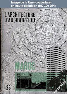 L' ARCHITECTURE D'AUJOURD'HUI  numéro 35 du 01 mai 1951