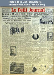 LE PETIT JOURNAL  numéro 25093 du 29 septembre 1931