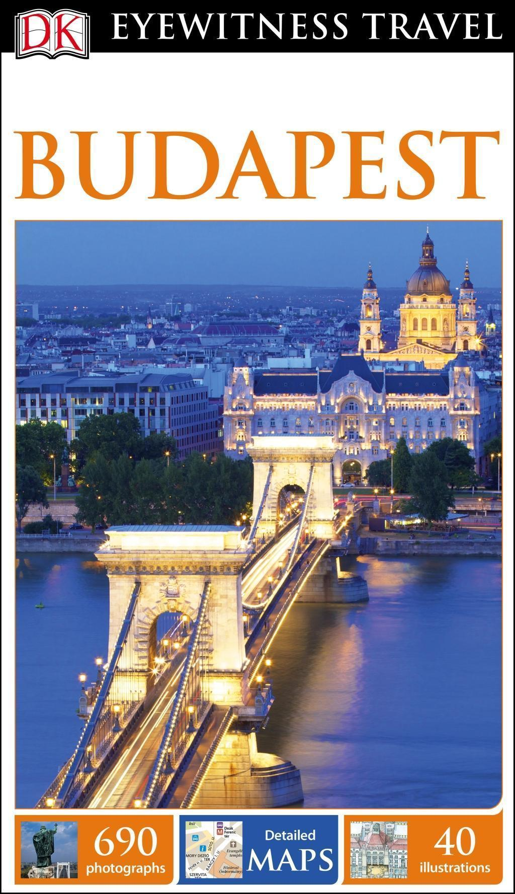 DK Eyewitness Travel Guide: Budapest