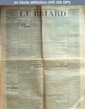 LE BRIARD  numéro 91 du 23 novembre 1910