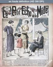 LE PETIT ECHO DE LA MODE  numéro 35 du 28 août 1921