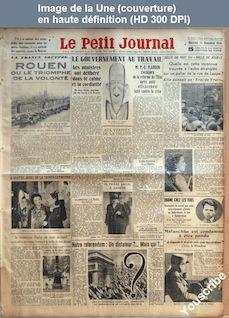 LE PETIT JOURNAL  numéro 26242 du 21 novembre 1934