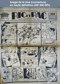 RIC ET RAC numéro 310 du 16 février 1935