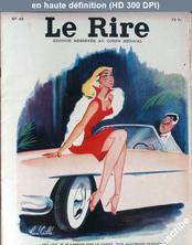 LE RIRE  numéro 49 du 01 octobre 1955