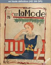 C'EST LA MODE numéro 24 du 01 juin 1936