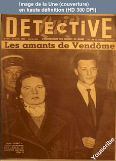 QUI DETECTIVE numéro 451 du 21 février 1955