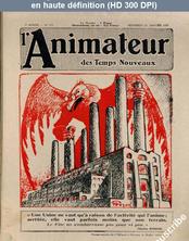 L' ANIMATEUR DES TEMPS NOUVEAUX  numéro 151 du 23 janvier 1929