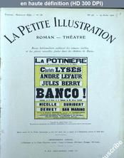 LA PETITE ILLUSTRATION THEATRE  numéro 95 du 29 avril 1922