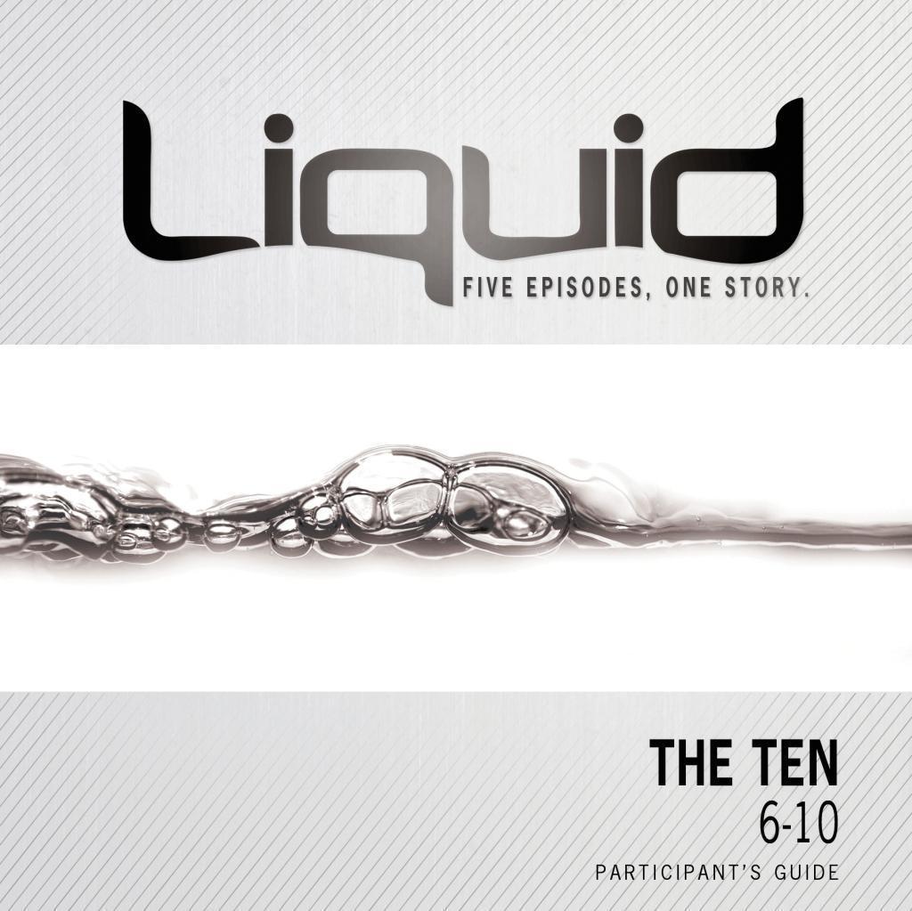 The Ten: 6-10 Participant's Guide