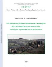 Les maires des petites communes face aux enjeux de la diversification du monde rural, une enquête auprès de 436 élus de Midi-Pyrénées