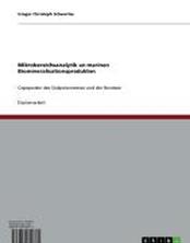 Mikrobereichsanalytik an marinen Biomineralisationsprodukten