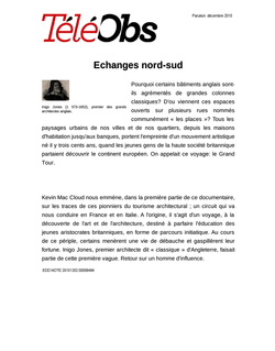 Echanges nord-sud