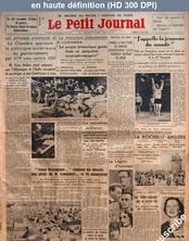 LE PETIT JOURNAL  numéro 26861 du 01 août 1936