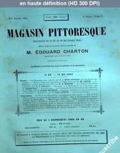 MAGASIN PITTORESQUE numéro 10 du 31 mai 1883