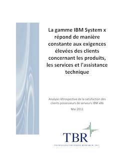 La gamme IBM System x répond de manière constante aux ...