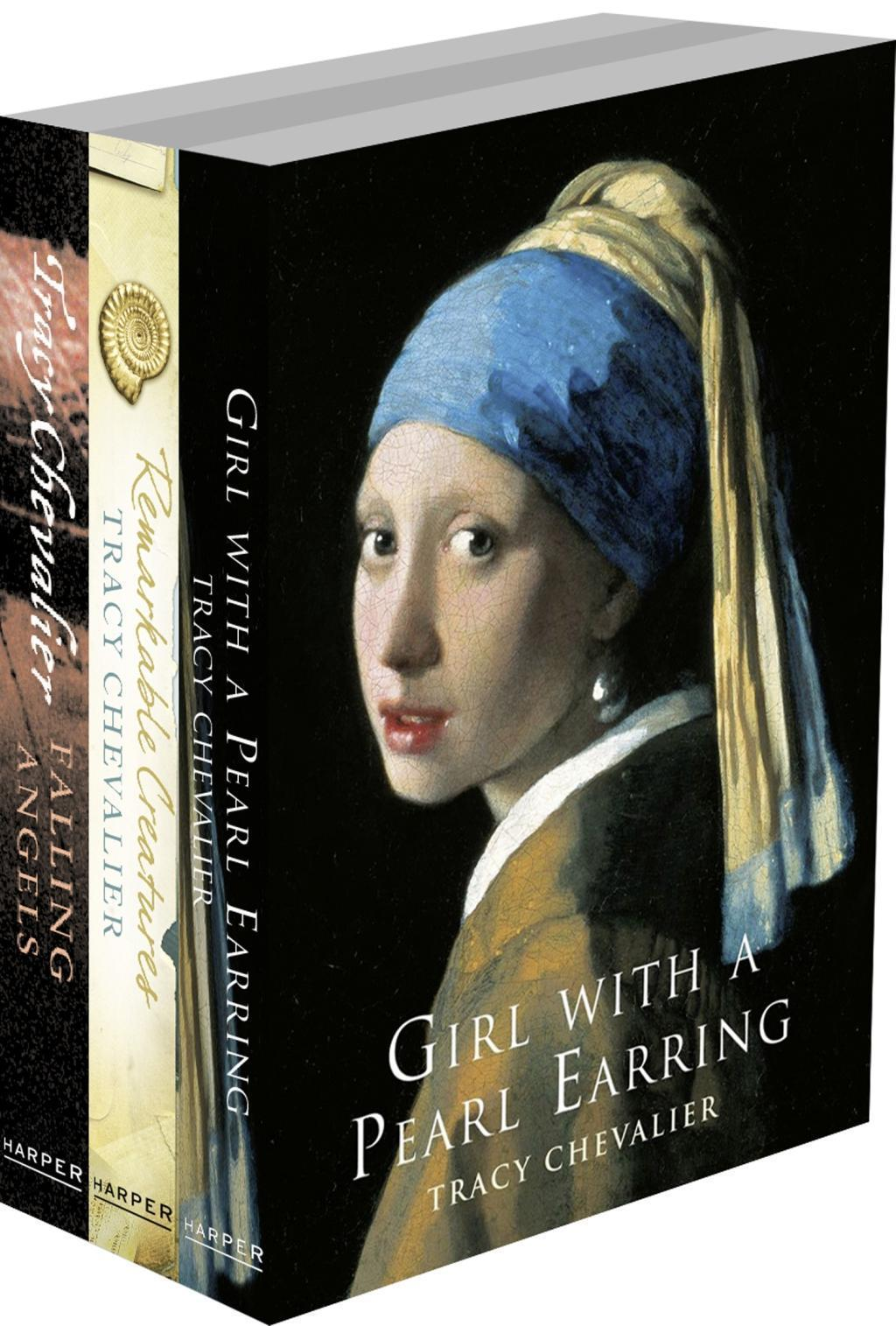 Tracy Chevalier 3-Book Collection: Girl With a Pearl Earring, Remarkable Creatures, Falling Angels