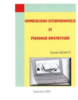 COMMUNICATION INTERPERSONNELLE ET POLITIQUE DOCUMENTAIRE