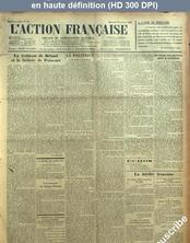 L' ACTION FRANCAISE  numéro 19 du 19 janvier 1927
