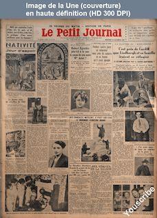 LE PETIT JOURNAL  numéro 26641 du 25 décembre 1935