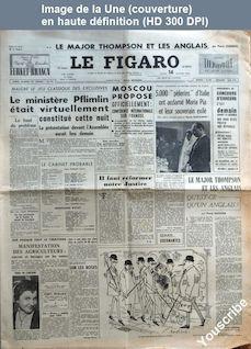 LE FIGARO  numéro 3246 du 14 février 1955