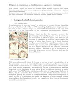 A/ Vision occidentale de l'iconographie nippone contemporaine
