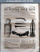 LA SCIENCE POUR TOUS  numéro 51 du 16 novembre 1865
