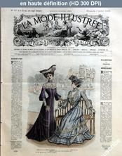 LA MODE ILLUSTREE  numéro 27 du 06 juillet 1902