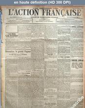 L' ACTION FRANCAISE  numéro 304 du 31 octobre 1917