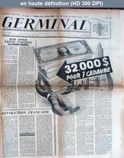 GERMINAL numéro 8 du 16 juin 1944
